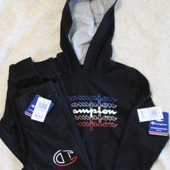Champion Other - NWT Champion Hooded Sweatshirt and Sweatpants Set